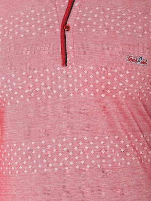 pink cotton all over print tshirt - 15025182 - Standard Image - 4