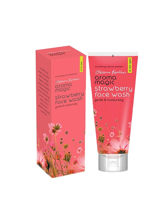 Aroma Magic Strawberry Face Wash 100ml (Pack OF 2) - By