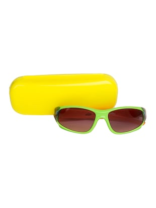 green polycarbonate sunglass - 15041906 - Standard Image - 4