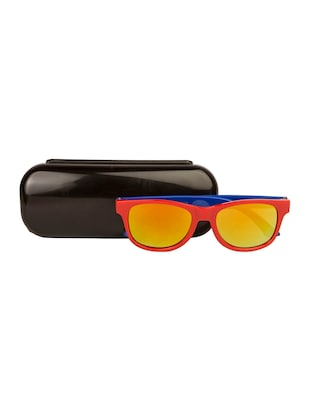 red polycarbonate sunglass - 15041914 - Standard Image - 4