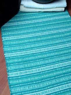 Cotton Blue Mat - Laurel Home
