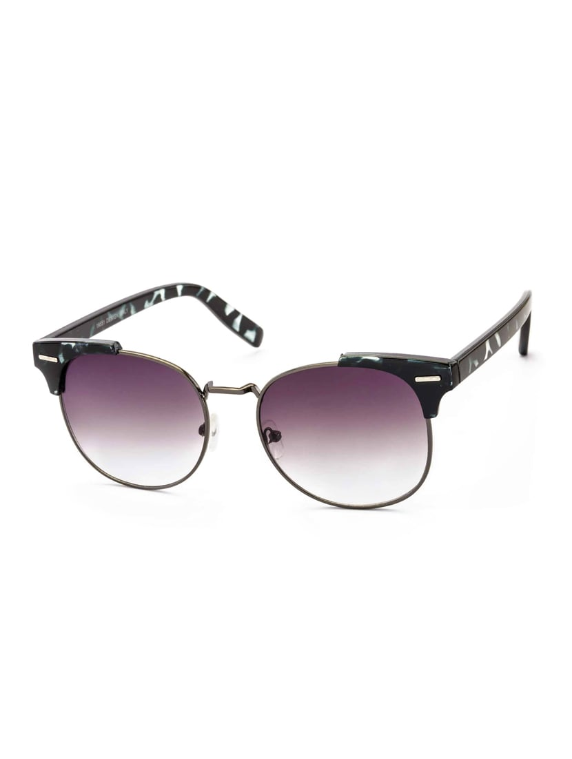1b358a9528bf5 Buy Stacle Uv Protected Clubmaster Style Round Oval Unisex Sunglasses  (st19551