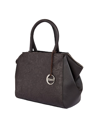 brown leather regular handbag - 15059307 - Standard Image - 4