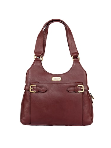 d4b43223c9cf Leather Handbags - Buy Ladies Leather Handbags Online in India