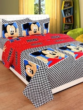 PolyCotton Double Bedsheet With 2 Pillow Covers -  online shopping for bedsheets