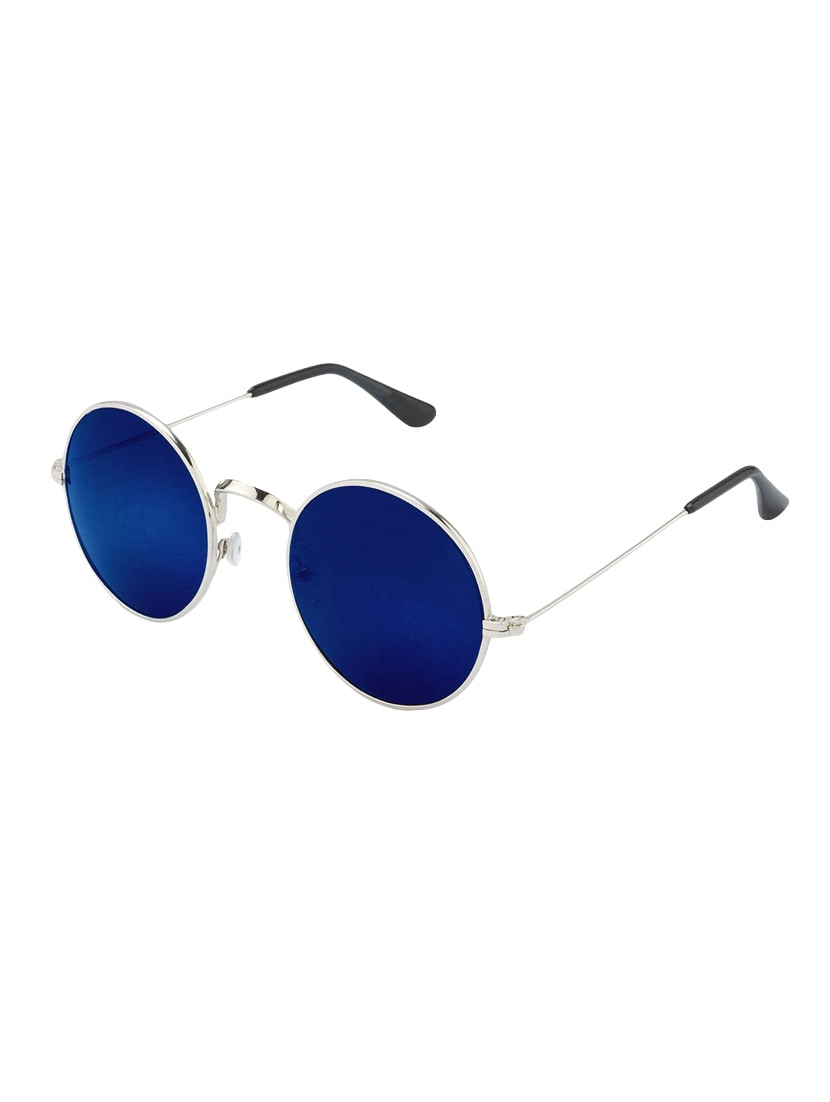 b2c264ca202 Buy Eagle Blue Round Gandhi Sunglasses for Men from Eagle for ₹297 at 77%  off