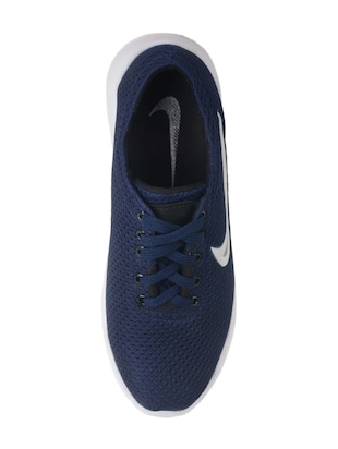 navy mesh sport shoes - 15073206 - Standard Image - 4