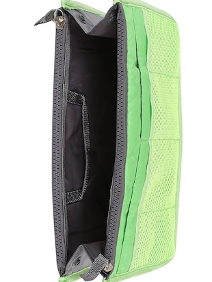 green polyester utility bag - 15083653 - Standard Image - 4