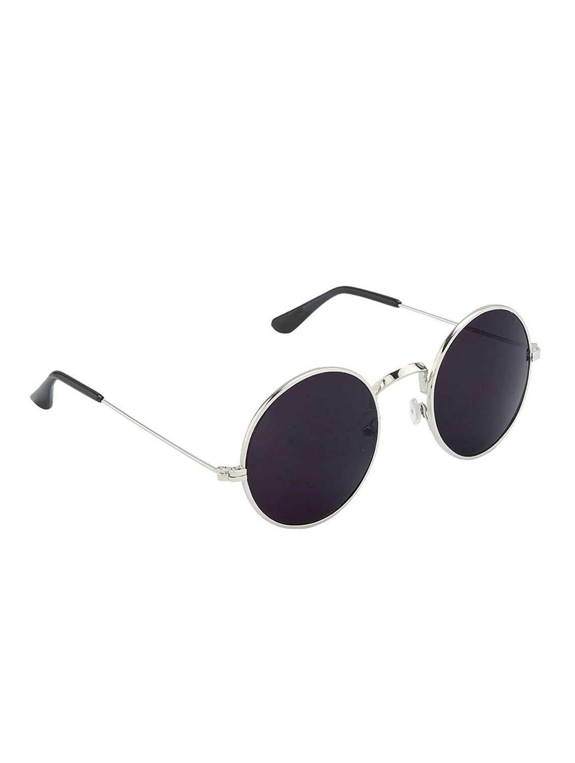 b3c7f8aede Buy Eagle Oval Black Silver Round Gandhi Combo Sunglasses by Eagle - Online  shopping for Men Sunglasses in India