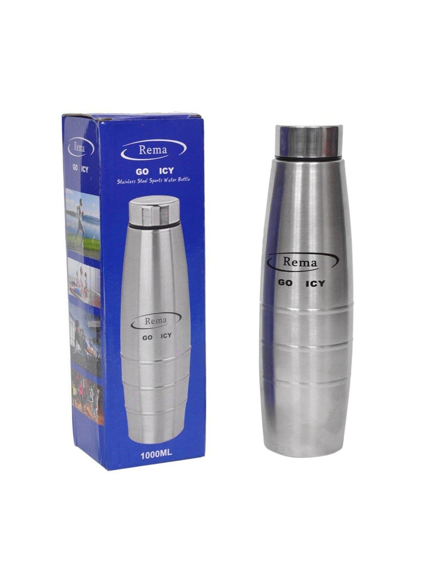f2b62cf529b Buy Rema Go Icy Stainless Steel Water Bottle 1000ml (wont Keep Water Hot Or  Cold) for Unisex from Rema for ₹529 at 0% off