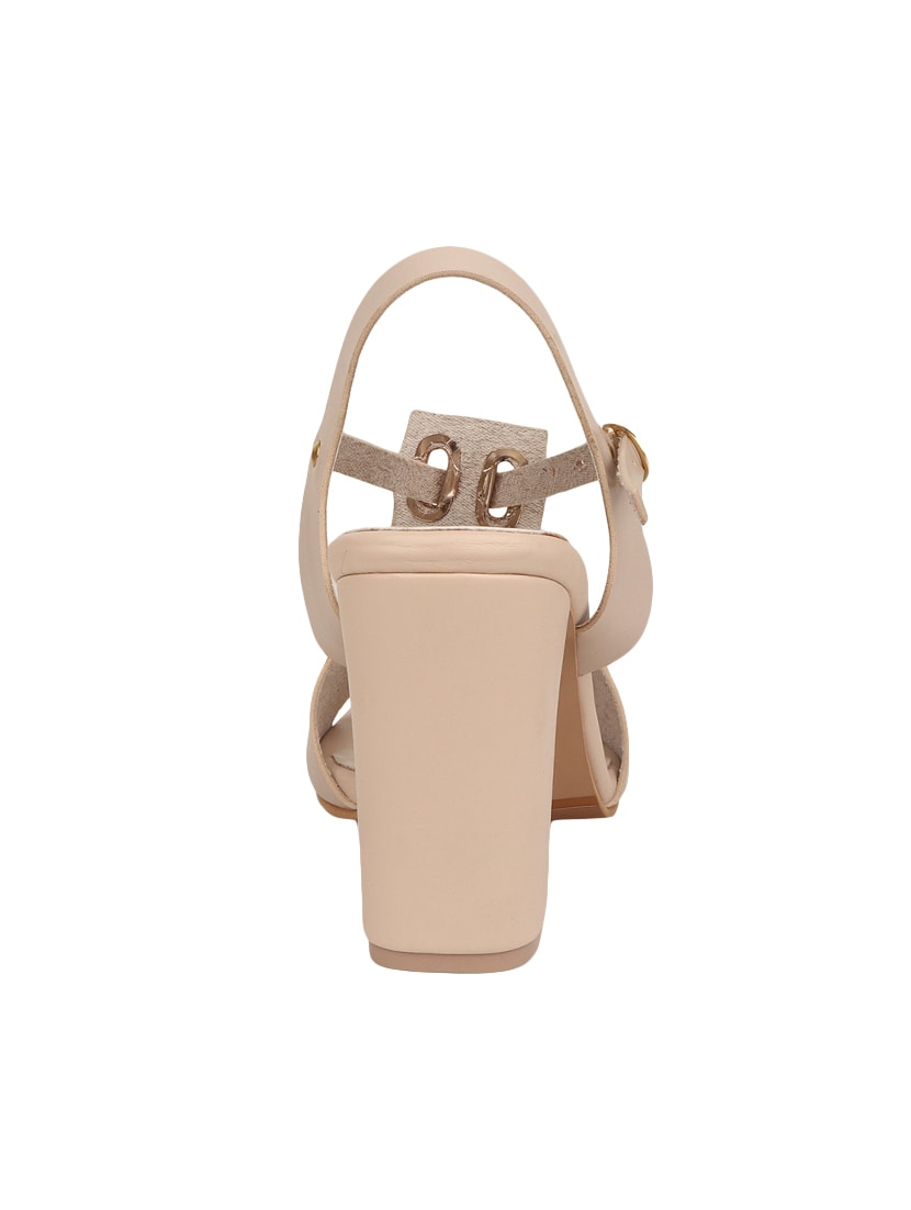 Buy Beige Ankle Strap Sandal by Lovely Chick - Online shopping for Sandals  in India