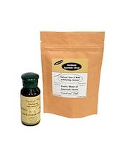Himalayan Orange Peel Powder + Anti Hair Fall Triphla Moringa Hair Pack - By
