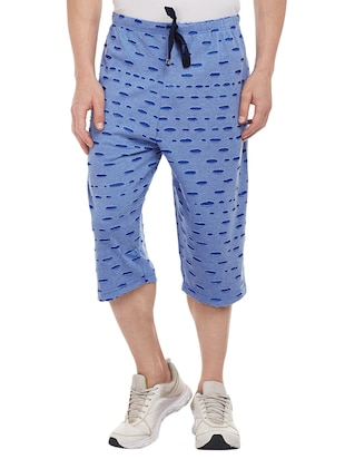 blue cotton three  fourths - 15113874 - Standard Image - 4