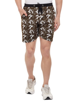 multi colored cotton shorts - 15113900 - Standard Image - 4