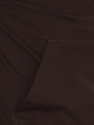 brown cotton pocket t-shirt - 15115312 - Standard Image - 4
