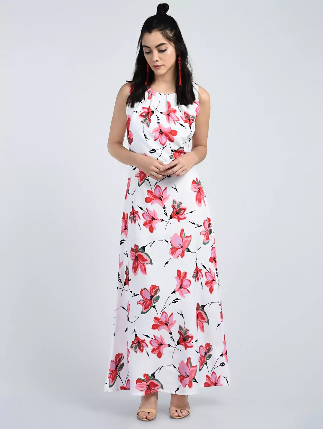 00416f0f03 Buy Floral Maxi Dress by A K Fashion - Online shopping for Dresses in India