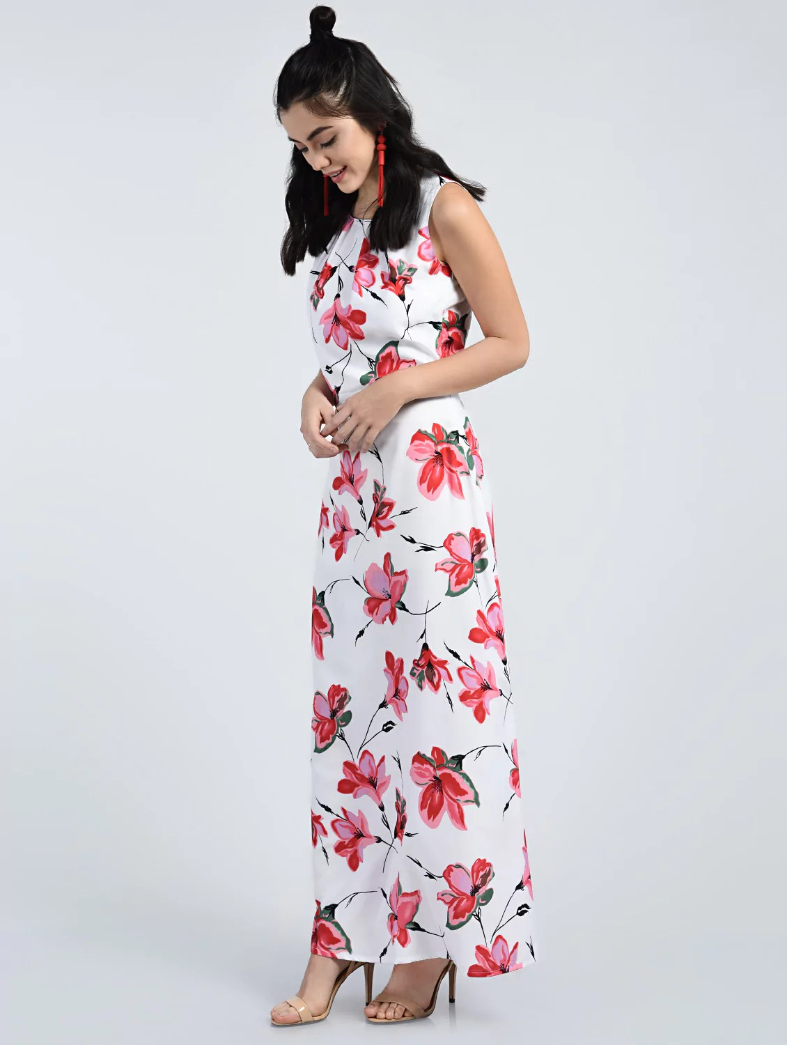 ca612a283a Buy Floral Maxi Dress for Women from A K Fashion for ₹550 at 58% off