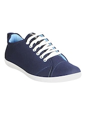 b1e160c5217 Buy Blue Leatherette Lace Up Sneaker for Men from Fausto for ₹699 ...