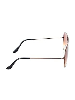 Zyaden Brown Aviator Sunglasses ( AV-22 ) - 15127552 - Standard Image - 4