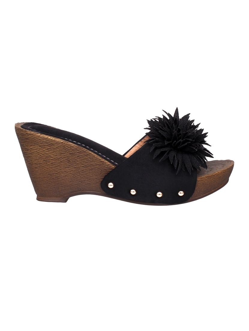 102fee2c4516 Buy London Steps Black Wedges by London Steps - Online shopping for Wedges  in India