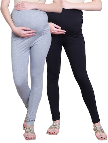 set of 2 multicolored maternity legging - 15139364 - Standard Image - 1