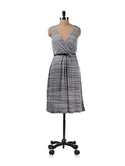 Black And White Stripe Dress - Chemistry