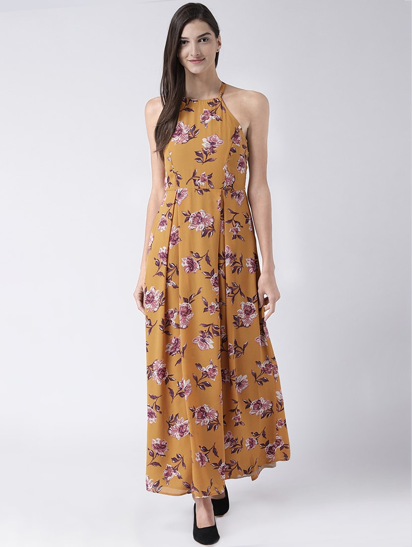 14d524daf99a Buy Yellow Floral Maxi Dress for Women from The Vanca for ₹1214 at 36% off
