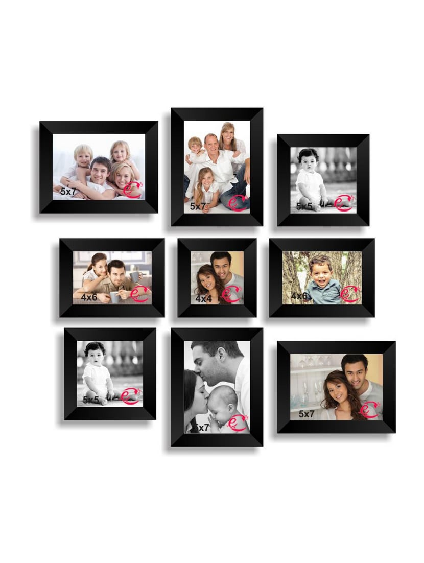 Buy Memory Wall Collage Photo Frame Set Of 9 Individual Photo Frames