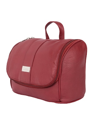 red leather utility bag - 15173774 - Standard Image - 4