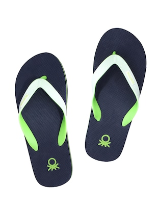 eb787e642 Buy Navy Rubber Toe Separator Flip Flops for Men from Ucb for ₹499 at 0% off