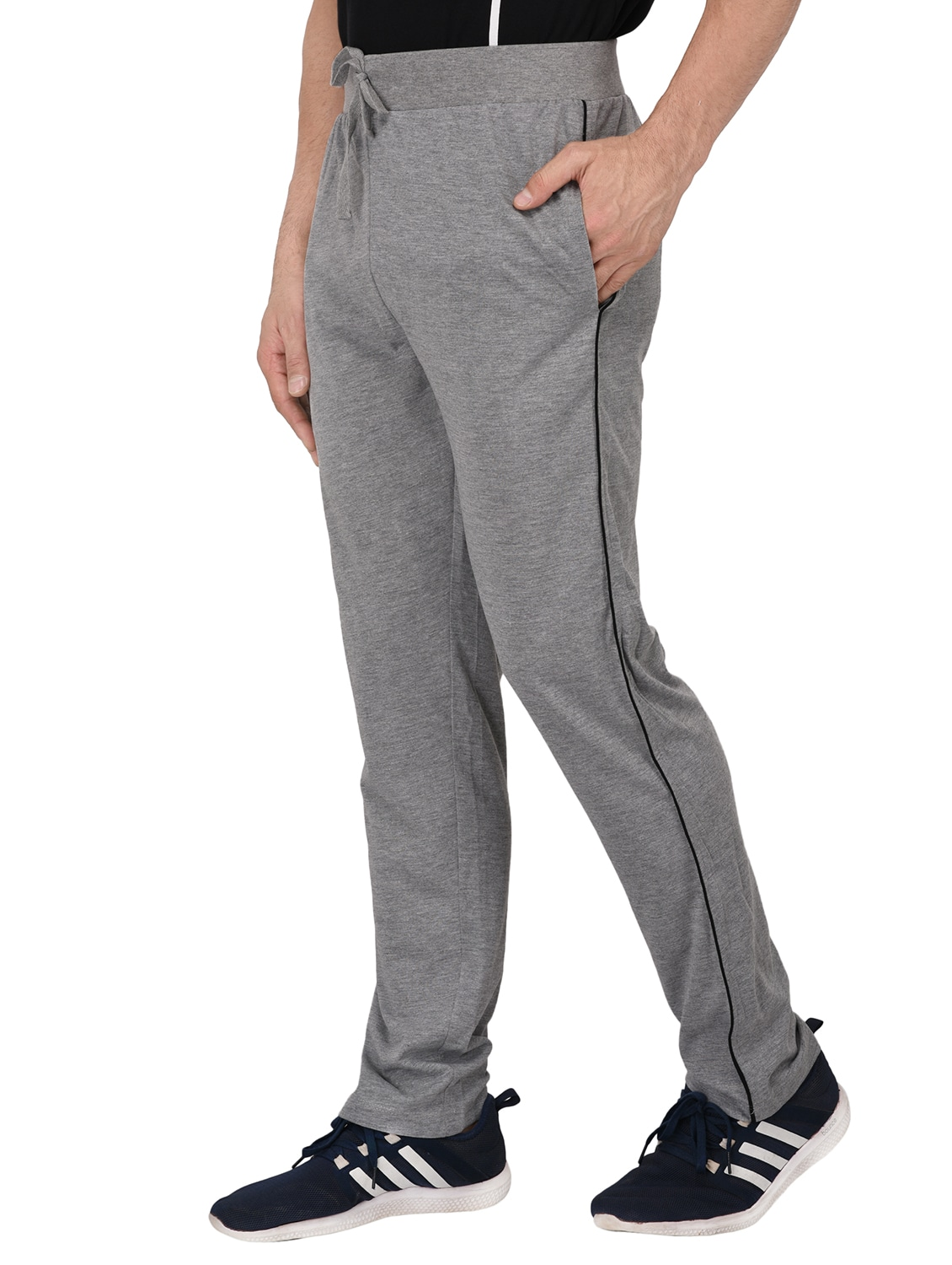 2588dabe72 grey cotton full length track pant