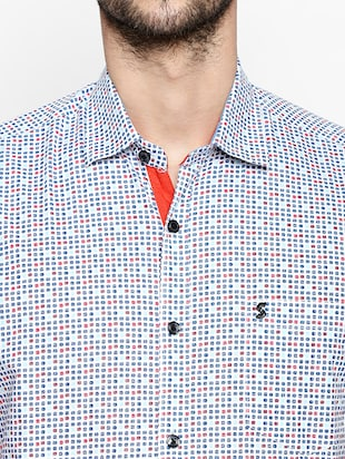 multi cotton casual shirt - 15180291 - Standard Image - 4