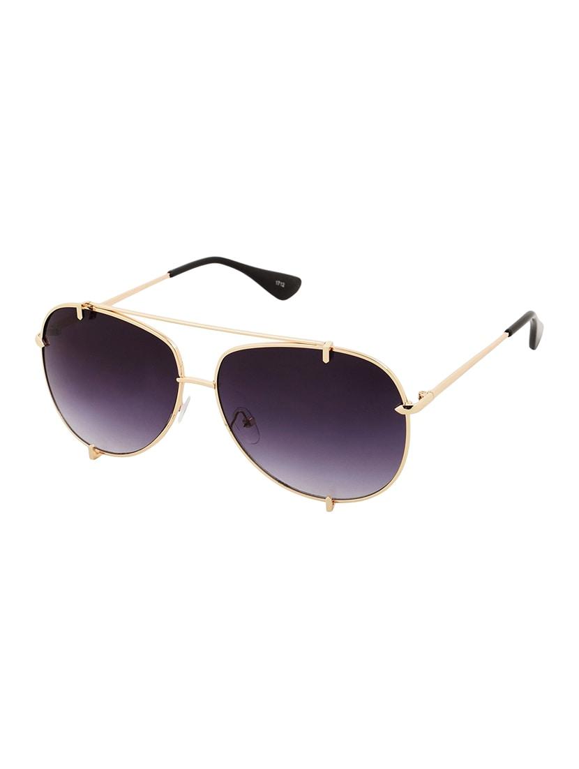 b974764c95 Buy Aventus Aviator Sunglasses For Men   Women-black Golden Metal Glasses-  Stylish Designer Goggles-uv Protection by Aventus - Online shopping for Men  ...