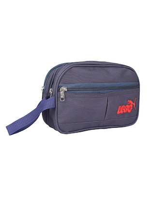 blue leatherette (pu) regular pouch - 15189886 - Standard Image - 4