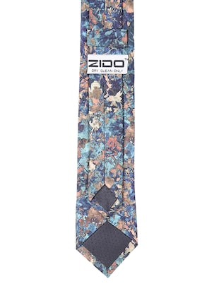 multi colored micro-fibre tie - 15190399 - Standard Image - 4