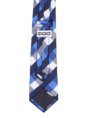 multi colored satin tie - 15190423 - Standard Image - 4