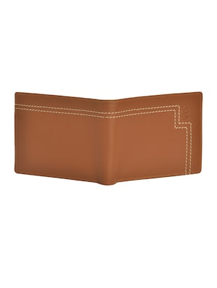 brown leatherette wallet - 15190978 - Standard Image - 4