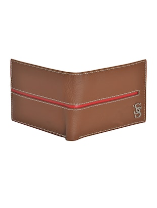 brown leatherette wallet - 15190993 - Standard Image - 4