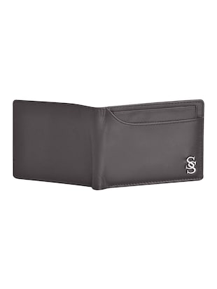brown leatherette wallet - 15191005 - Standard Image - 4
