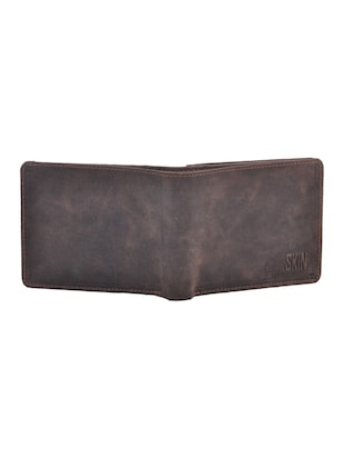 grey leatherette wallet - 15191035 - Standard Image - 4