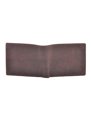 brown leatherette wallet - 15191037 - Standard Image - 4