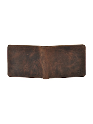 brown leatherette wallet - 15191048 - Standard Image - 4