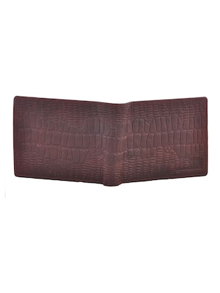 brown leatherette wallet - 15191078 - Standard Image - 4
