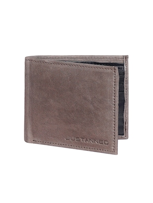 brown leather wallet - 15193515 - Standard Image - 4