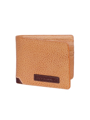 tan leather wallet - 15193524 - Standard Image - 4