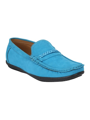 3cb4b2b249e Buy Blue Leatherette Slip On Loafers for Men from Romeo for ₹500 at ...