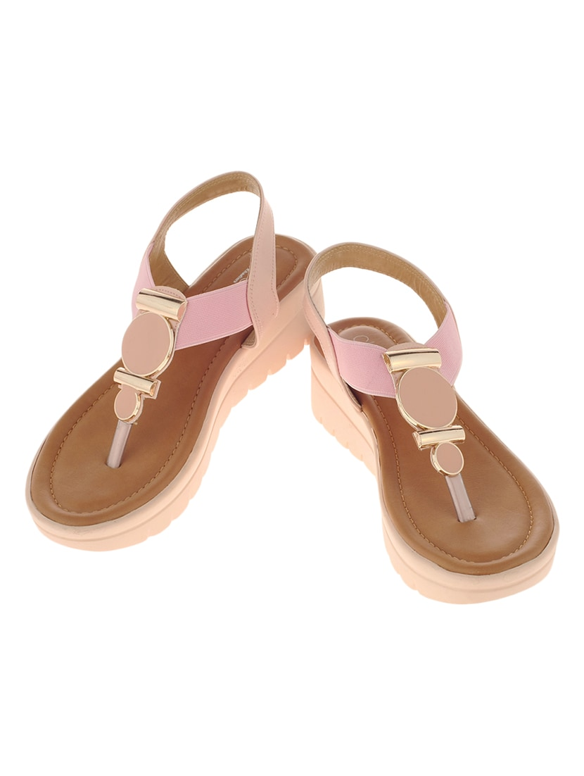 21915aa8aa5 Buy Khadim s Cleo Women Pink Casual Heel Sandal for Women from Khadims for  ₹699 at 0% off