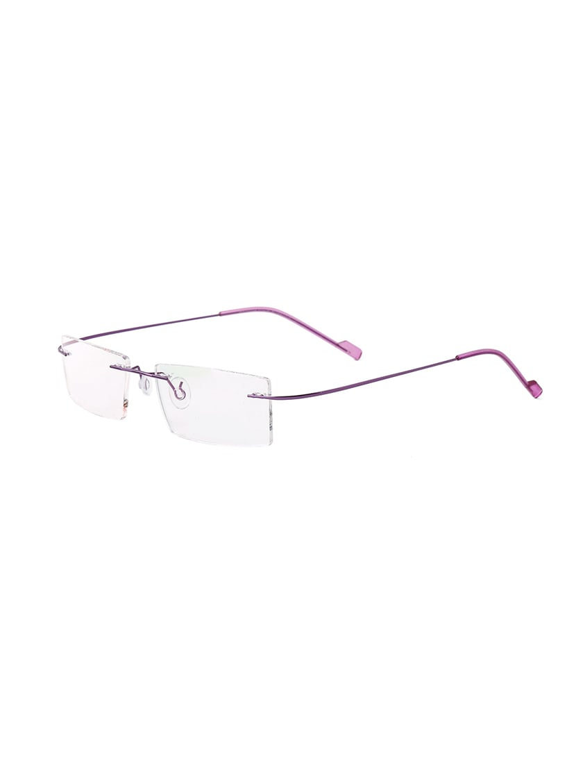 68a7ab2758 Buy Royal Son Rimless Rectangular Spectacle Frame For Women  (rs04950er