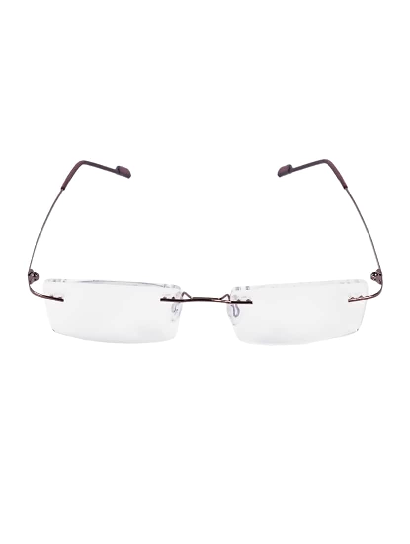 65a2be327e Buy Royal Son Rimless Rectangular Spectacle Frame For Women  (what0820