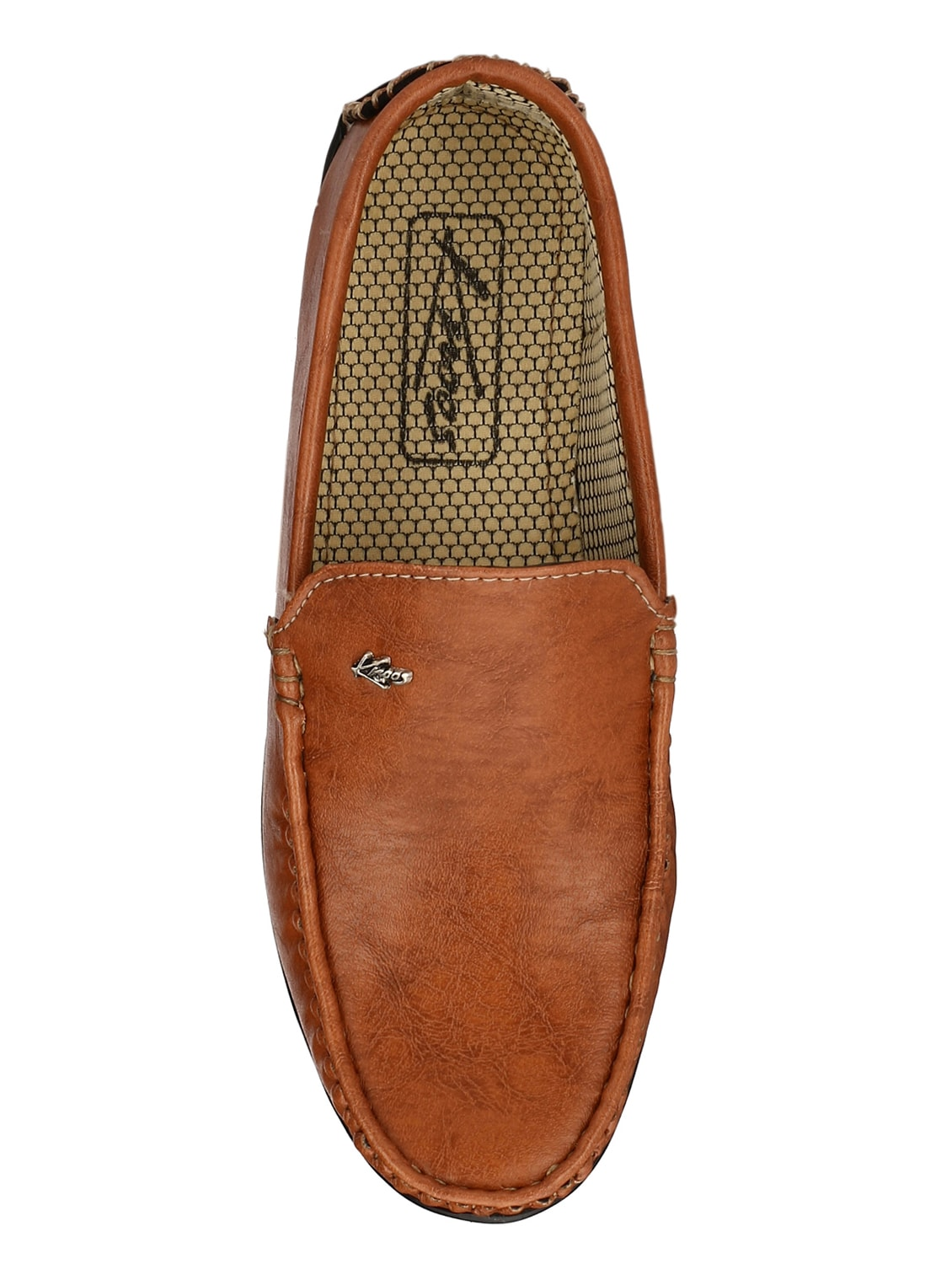 cd6d0f64335 Buy Tan Leatherette Office Wear Loafer by Knoos - Online shopping for  Loafers in India